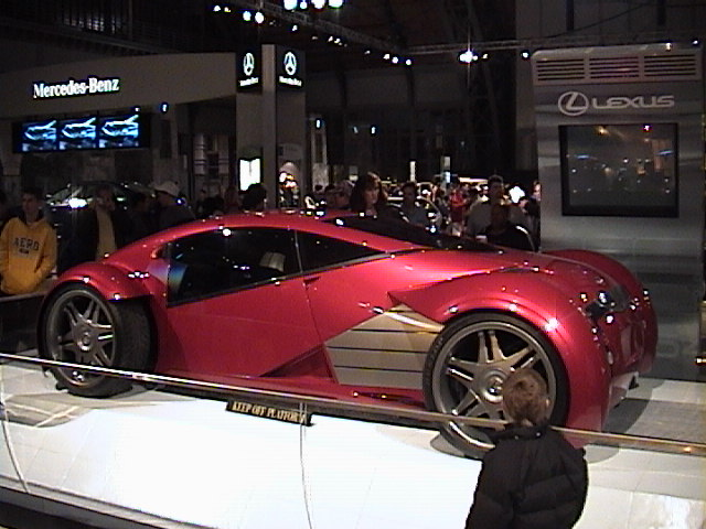 Lexus used in the film Minority Report with Tom Cruise